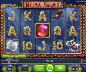 Free Spins på Mythic Maiden