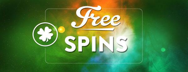 Free spins 27 - 29 april