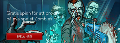Freespins på Zombies