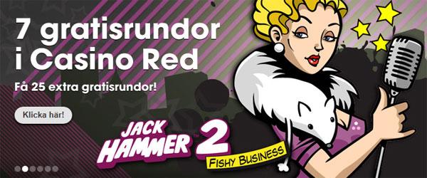 Jack Hammer 2 free spins