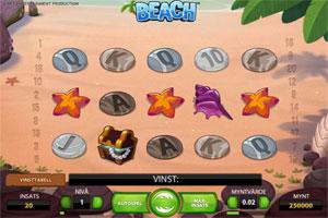 Beach spelautomat