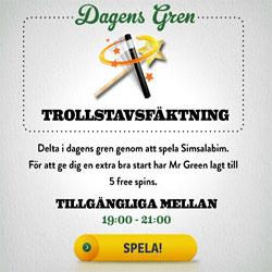 Mr Green freespins