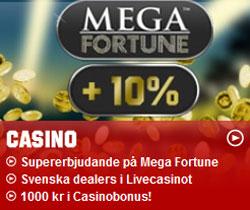 Unibet Mega Fortune