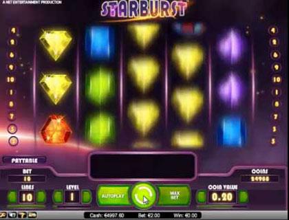 Betsson free spins Starburst