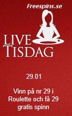 Betsson live tisdag