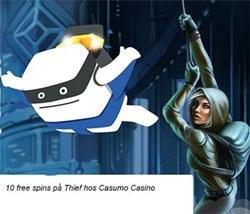 Casumo freespins Thief