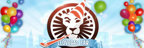 Leo Vegas 1 år