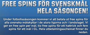 Freespins svenskmål