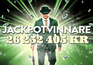 Mr Green jackpotvinnare