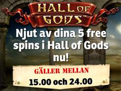 Mr Green Hall of Gods