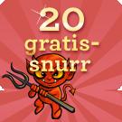 20 snurr Devils Delight