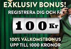 100 kr gratis Mr Green