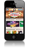 Leo Vegas mobil