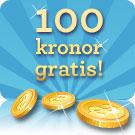 100 kr gratis Vinnarum
