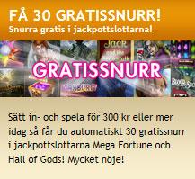 30 gratissnurr Bertil