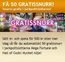 50 gratissnurr Bertil