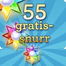 55 gratissnurr Vinnarum