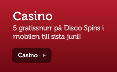 Disco Spins mobil