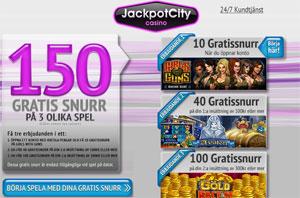 Jackpotcity kampanj