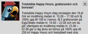 Betsafe happy hours