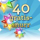 40 gratissnurr Starburst