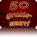 50 gratissnurr hos Vinnarum