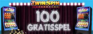 100 gratisspel Twin Spin