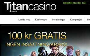 100 kr gratis Titan