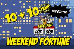 CasinoFloor Weekend fortune