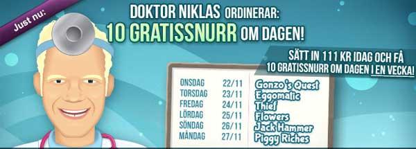 Doktor Niklas ordinerar