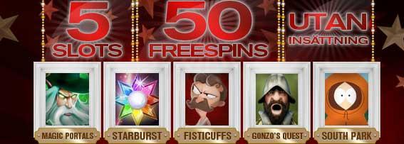 Redbet 50 gratissnurr