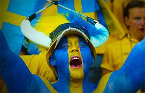 Svensk supporter