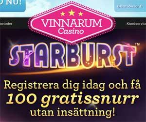 Vinnarum 100 gratis