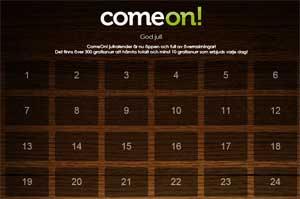 ComeOn Julkalender