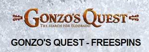Gonzo's Quest gratissnurr