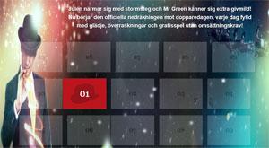 Mr Green julkalender 1 december