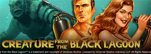 Unibet lanserar Creature from the black lagoon