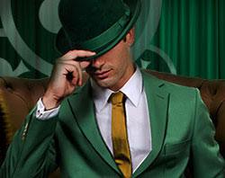 Herr grön