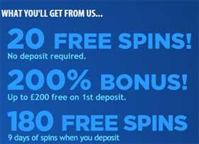bgo Vegas bonus