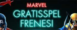Marvel Gratisspelfrenesi