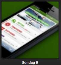 Unibet mobil erbjudande söndag