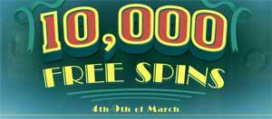 CasinoLuck 10000 snurr