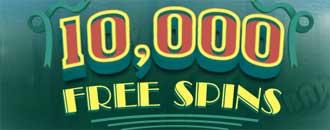 CasinoLuck - 10,000 spins