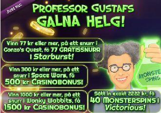 Professor Gustafs galna helg
