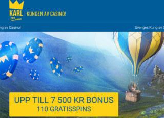 karl casino start