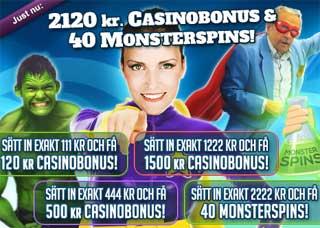 MamaMia casinobonus 22-23 mars 2014