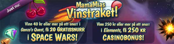 MamaMia Vinstraket 8 mars