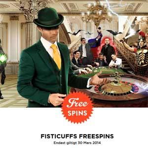 Mr Green Fisticuffs 30 mars