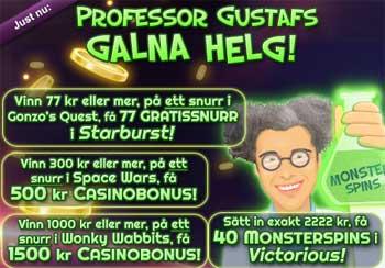 Professor Gustaf hos MamaMia
