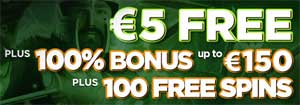 CasinoLuck 5 euro gratis